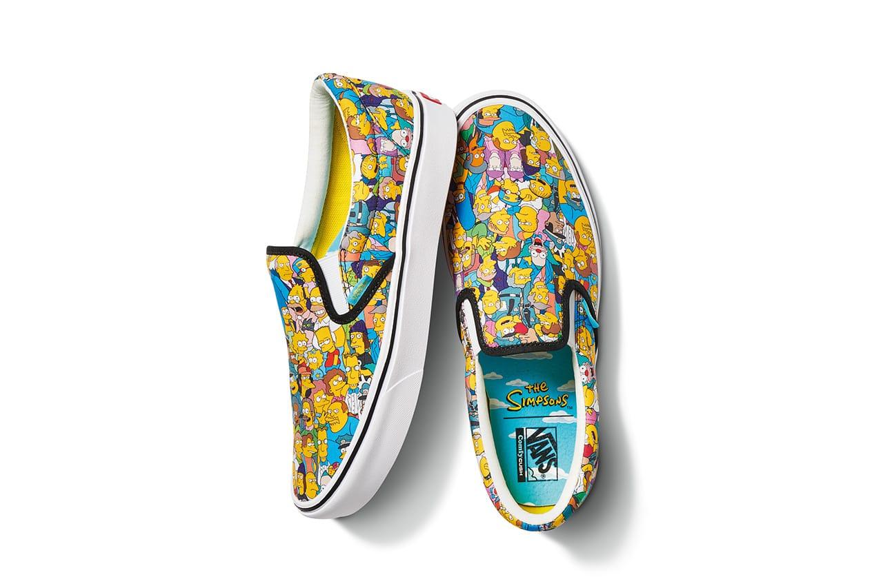 The Simpsons' x Vans Release