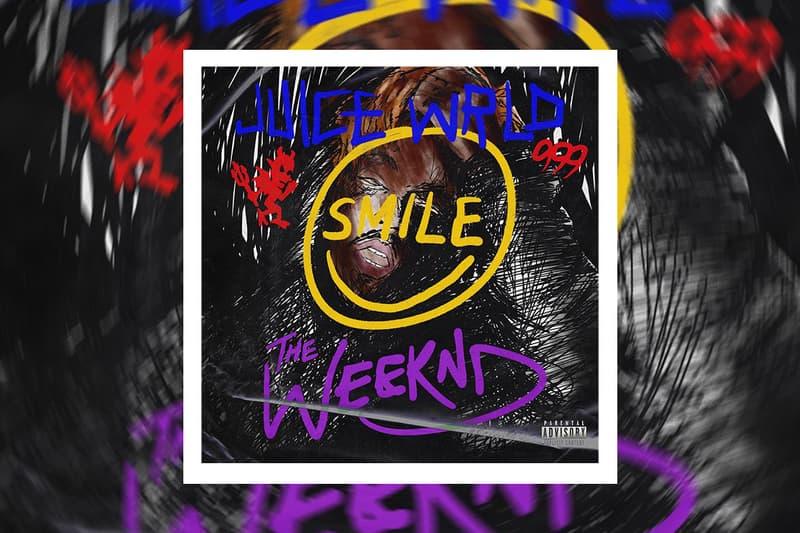 The Weeknd Juice WRLD Smile collab Single Stream lljw legends never die after hours