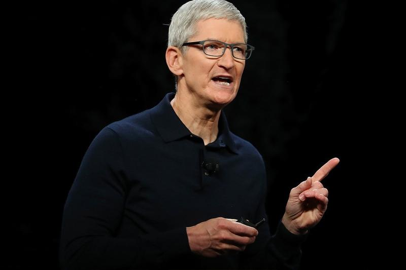 tim cook ceo chief executive officer apple tech market valuation capitalization 2 two trillion usd