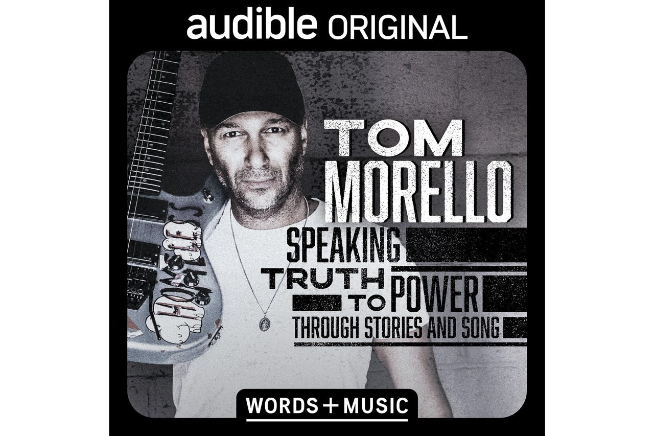 tom morello rage against the machine prophets of audioslave one man off broadway Minetta Lane Theatre Speaking Truth To Power Through Stories And Song audible stream listen release date info