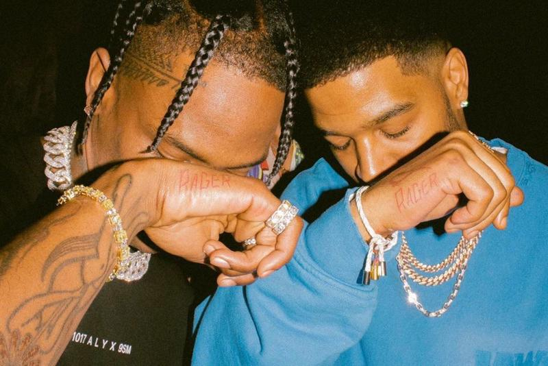 Travis Scott Kid Cudi Working on Album Together THE SCOTTS Full Length Rap Hip Hop Rager Astroworld Man on the Moon Cudi Is Back Cudder Best New Tracks HYPEBEAST