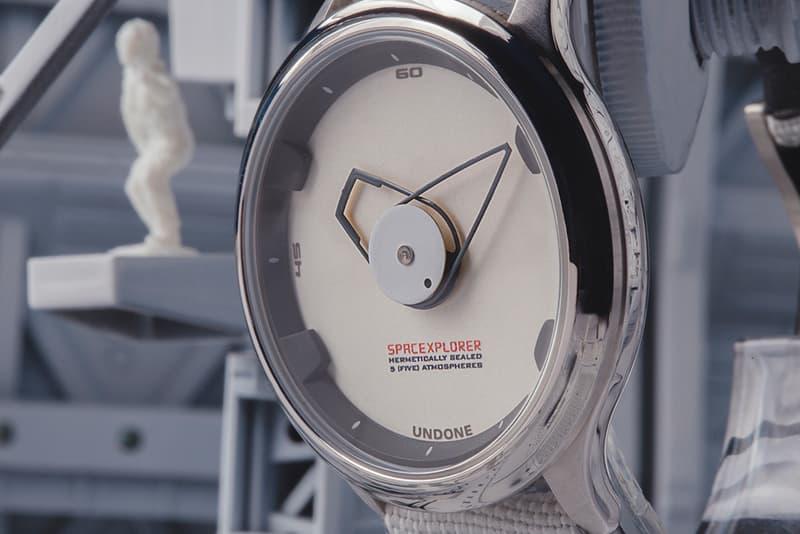 UNDONE Space Xplorer Watch Release elon musk SpaceX Dragon V2 Crew NASA Space quartz
