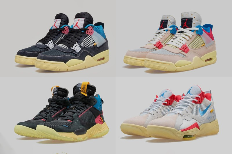 Detailed Look at the Union x Jordan Brand 2020 Footwear Collection