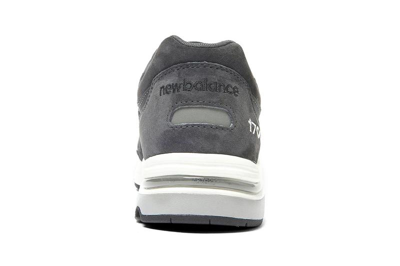 United Arrows New Balance 1700 Dark Gray Info sneakers shoes Japan UNITED ARROWS & Sons Made in USA trainers footwear