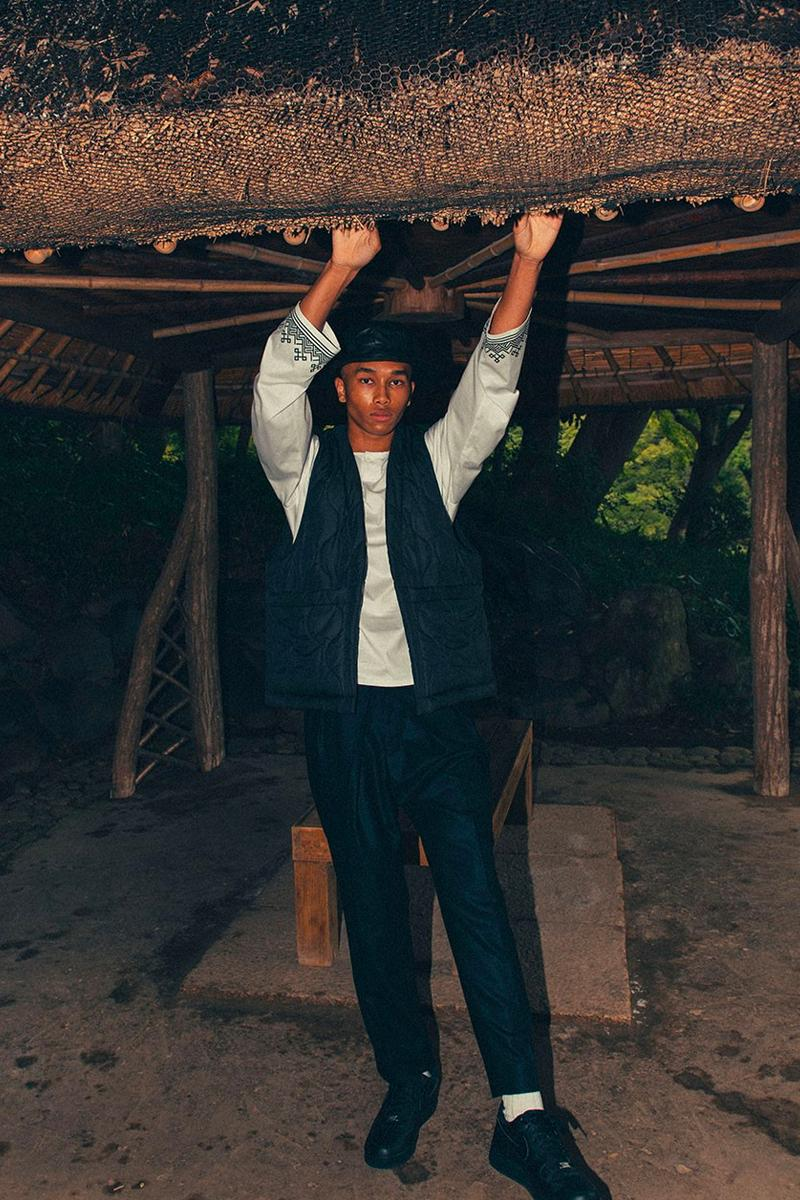 UNITED ARROWS SONS Fall Winter 2020 Lookbook menswear streetwear poggy traditional japanese noragi jackets shirts sweaters t shirts pants fw20 collection