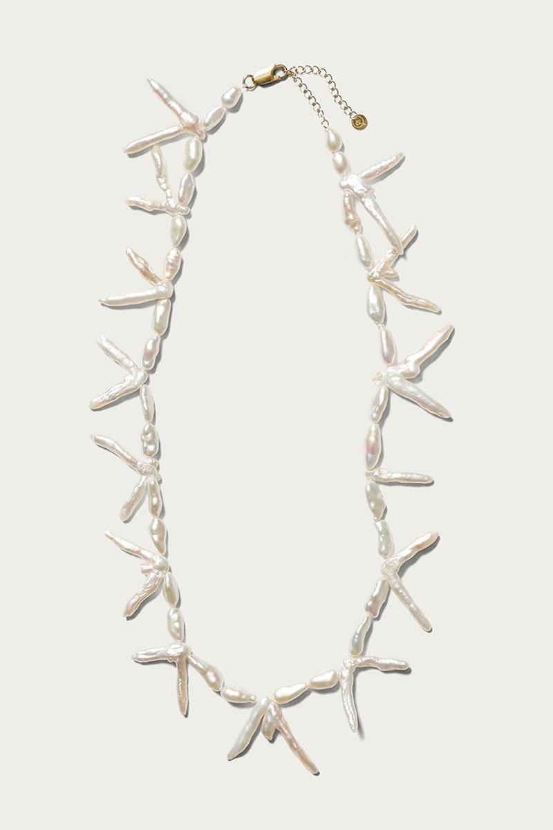 UNITED ARROWS SON Preek Pearls Info necklaces accessories jewelry freshwater pearls earring necklace
