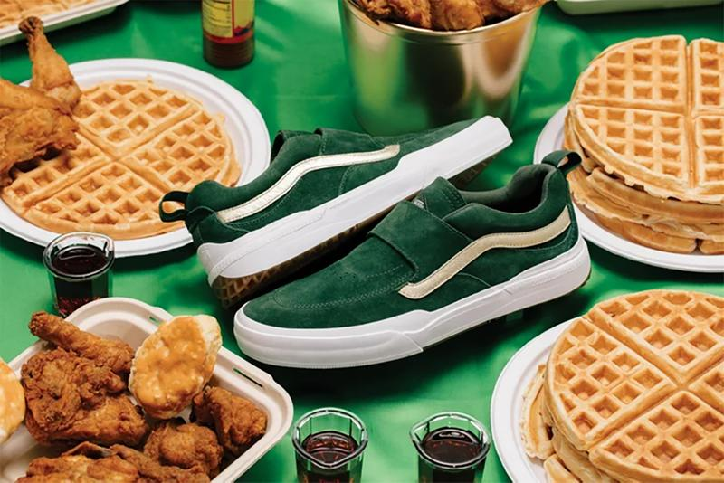vans shake junt collaboration skateboarding chicken waffles los angeles california Kyle Pro 2 Old Skool Pro Slip-On Pro Era Pro