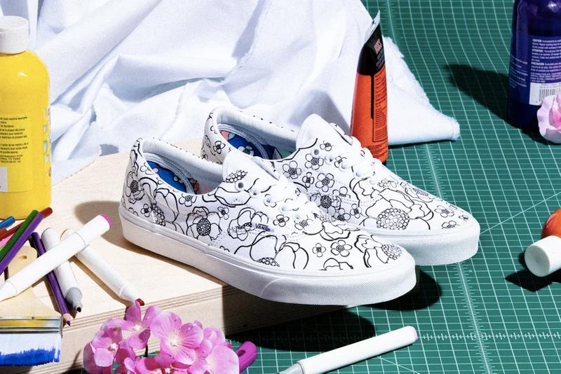 Vans U-Color Collection Era Slip On Backpack Release Information Footwear Sneaker Drop Date DIY Custom Sharpie Color In Pens Artwork Design Personalized Vulcanized SoCal Shoes