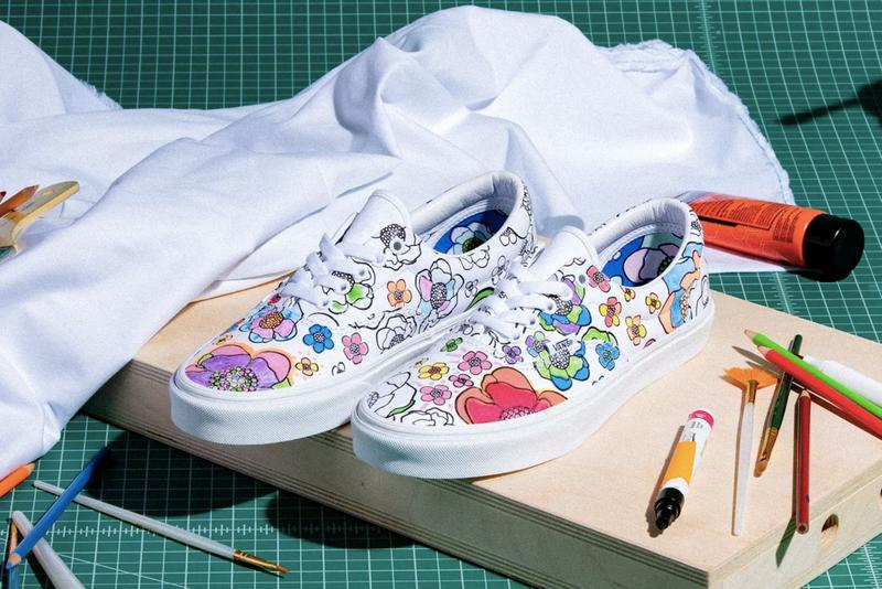 Color In The Vans U Color Era Slip On Collection Hypebeast