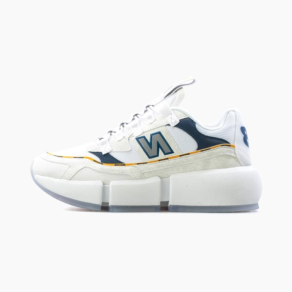 "Jaden Smith x New Balance Vision Racer ""White/Navy/Yellow"""