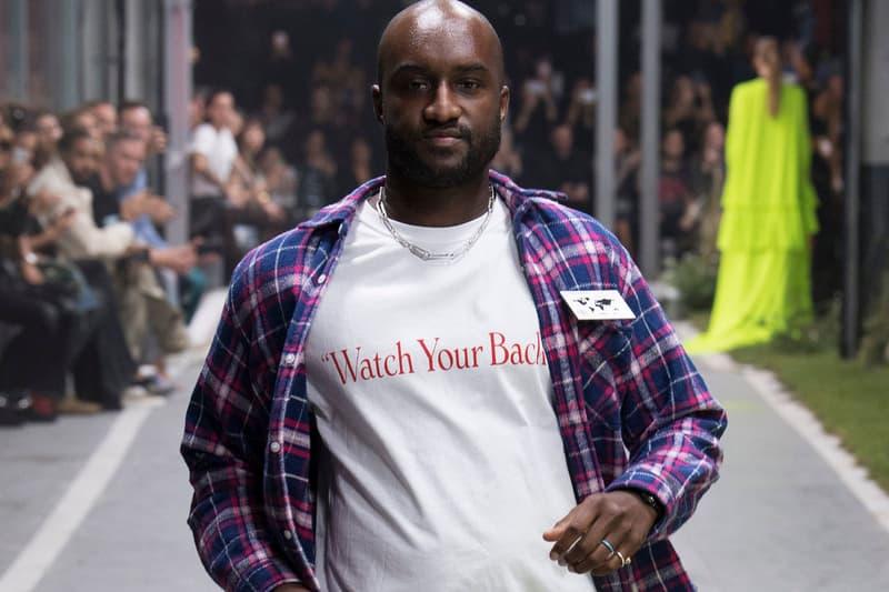 Virgil Abloh Responds to Walter Van Beirendonck louis vuitton ss21 spring summer 2021 menswear show presentation collection imitation copy plush