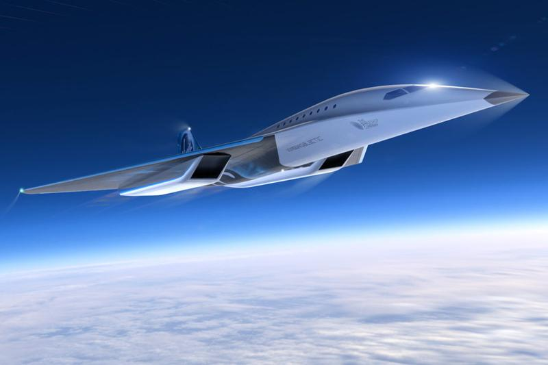 virgin galactic rolls royce mach 3 aircraft high speed commercial air travel transport unveil Info