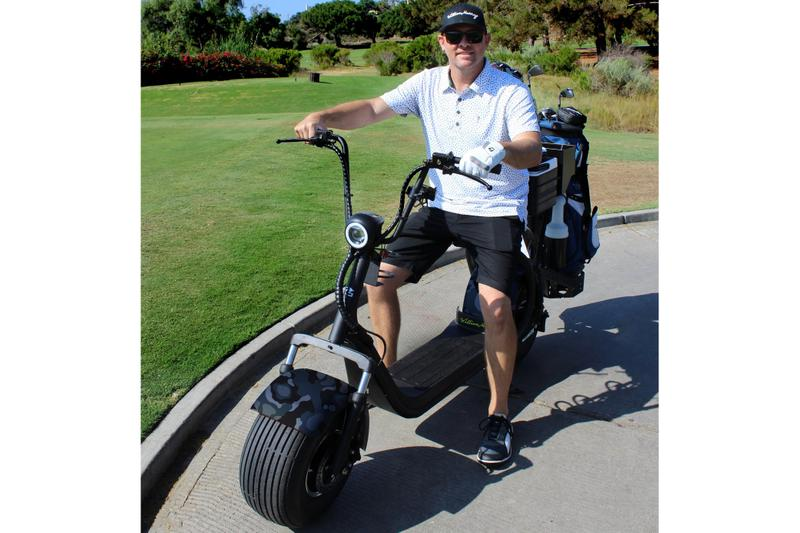 William Murray Golf PHAT Scooter Info scooters golfing sports electric scooter Pat Perez  Bill Murray golf carts karts