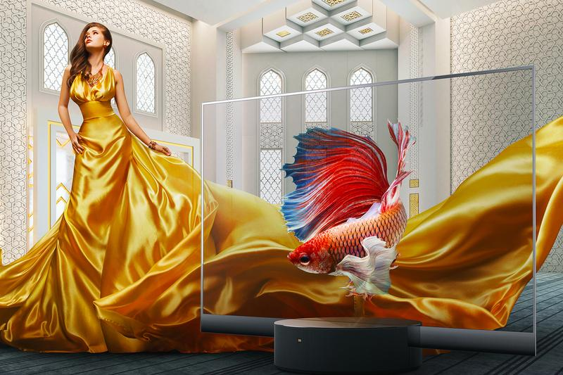 Xiaomi Mi TV LUX Transparent Edition Release Info Buy Price Worlds first