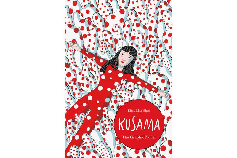 Yayoi Kusama 'A Graphic Biography' Release Info Elisa Macellari polka dot plush graphic novel artist