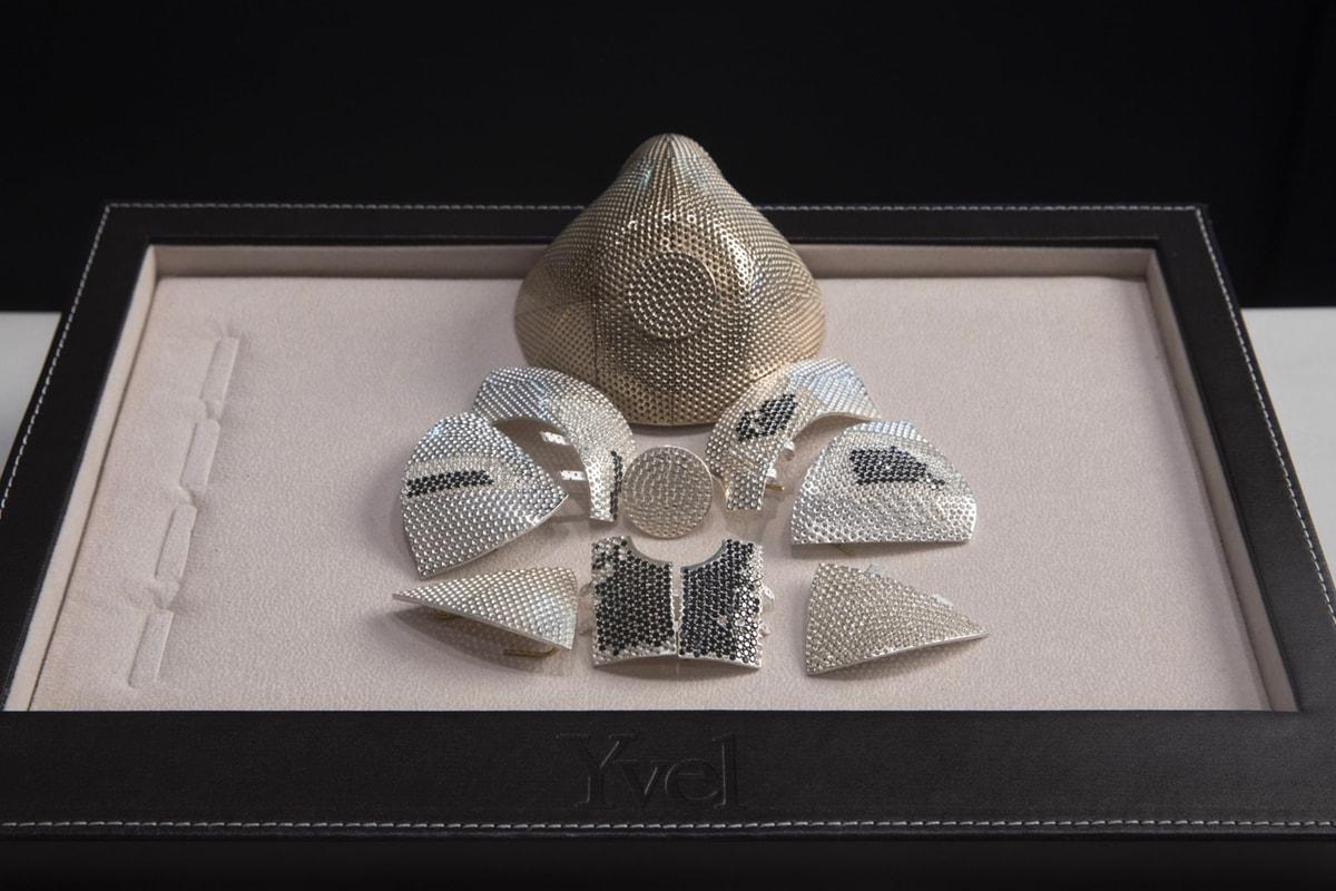 Jeweler Crafts Opulent $1.5M USD Diamonds and Gold Mask