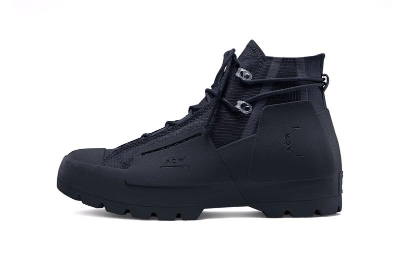 converse a cold wall Chuck Taylor all black lugged Samuel Ross collaboration where to cop when do they release