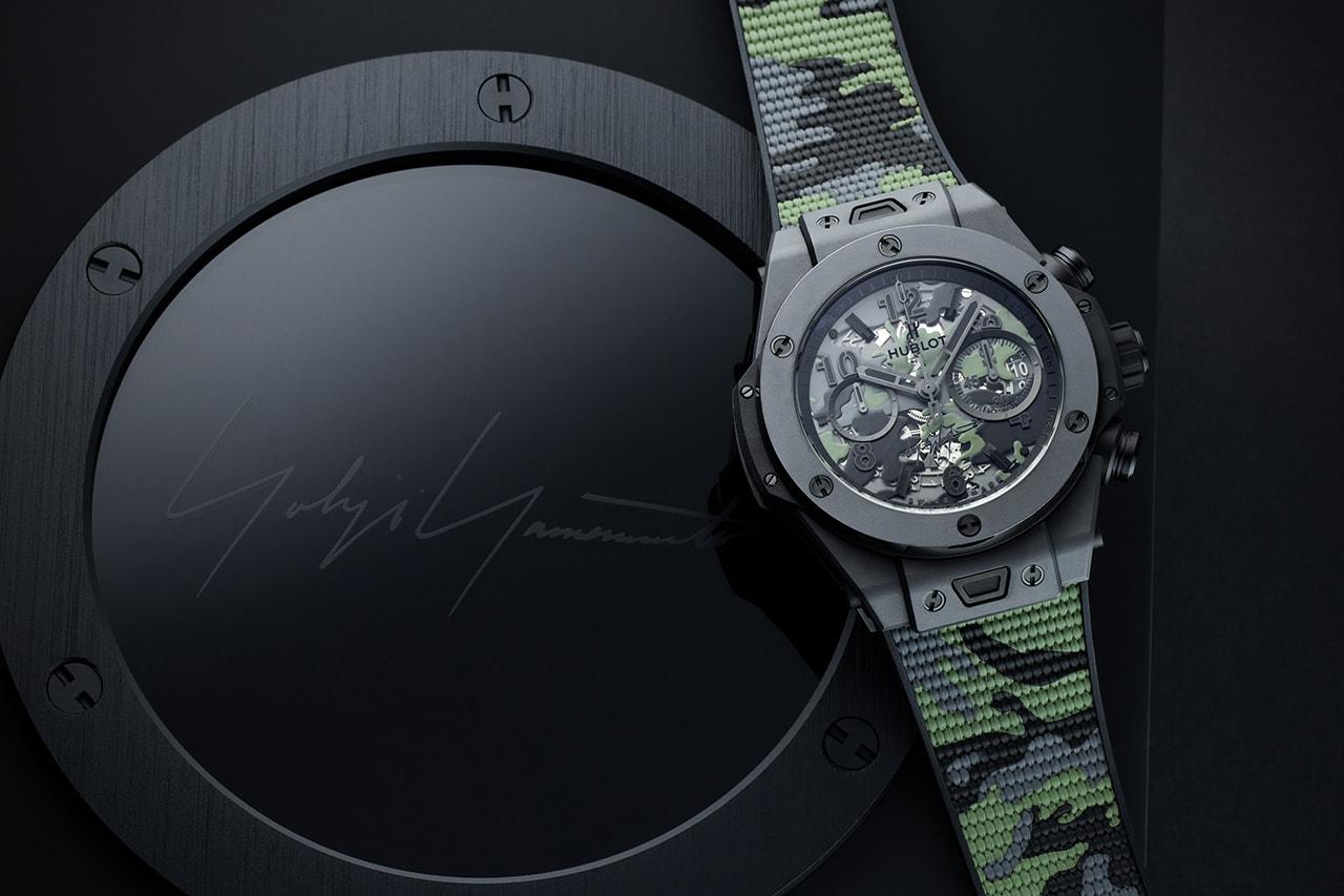 Hublot x Yohji Yamamoto 打造全新別注錶款 Big Bang Camo Yohji Yamamoto