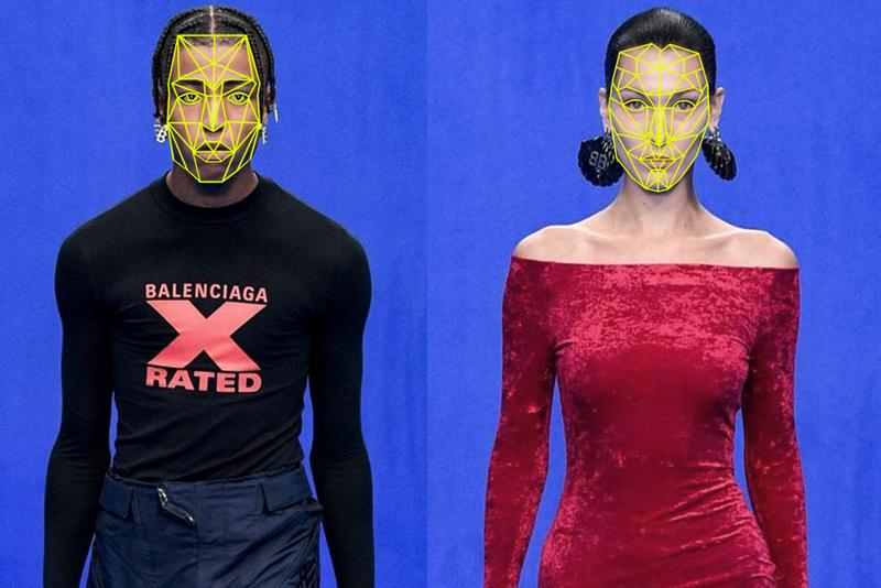 RefaceAI Deepfakes Fashion Face Swap Artificial Intelligence Balenciaga Acne Studios Digital Virtual Contactless