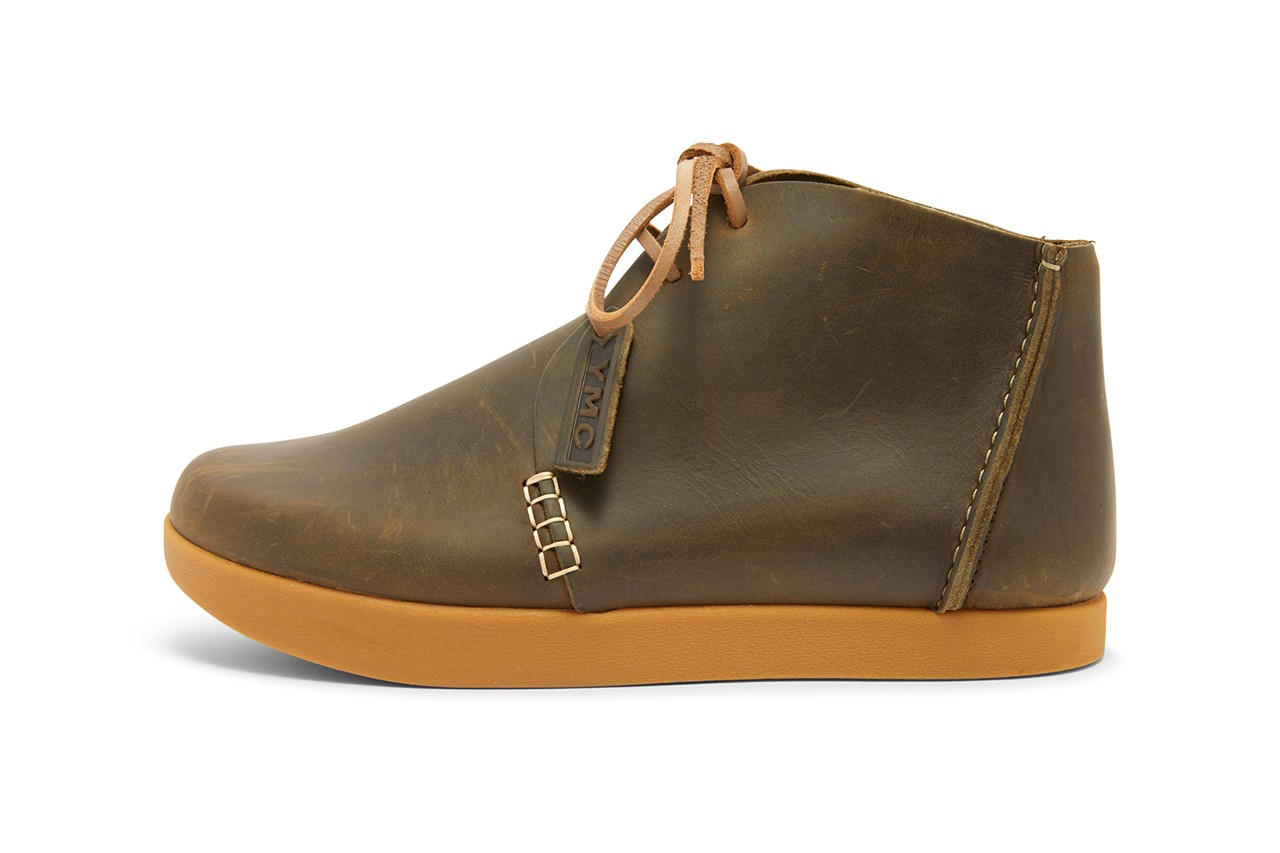ymc you must create yogi footwear orson archer details shoes boots chukka release information black brown olive leather buy cop purchase