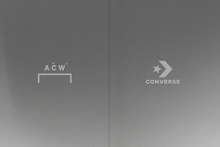 A-COLD-WALL* and Converse Tease New Collaboration