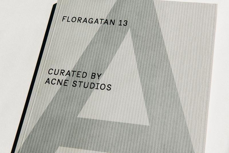 acne studios a magazine curated by floragatan 13 details jonny johansson max lamb release information buy cop purchase