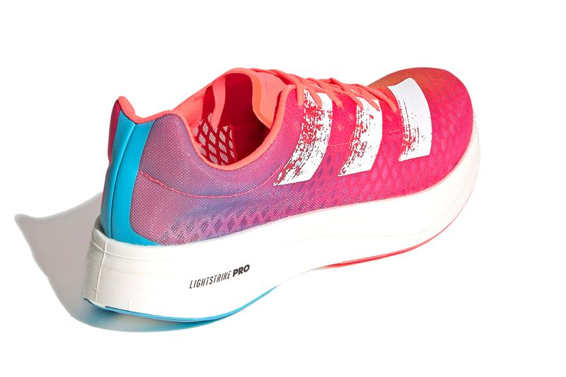 adidas adizero pro adios dream mile pink blue release information details fastest running shoe ever buy cop purchase