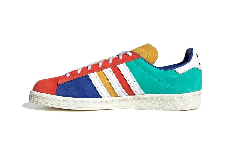 """adidas Originals Campus 80s Multicolored Patchwork Suede """"Royal Blue / Cloud White / Core Black"""" FW5167 Sneaker Release Information Closer Look First Drop Date Three Stripes Trefoil Classic OG"""