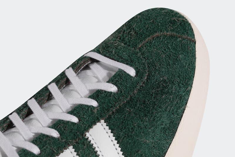 "adidas Originals Gazelle Vintage ""Green/White"" Picnic Park Checkered Print Design Hairy Suede Three Stripes German OG Footwear Casuals Tennis Classic FV9678 '80s"