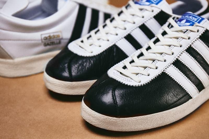 Adidas originals Billys Japan gazelle vintage 2020 leather premium Tokyo release information how much