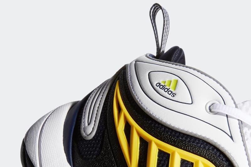 "adidas Originals Intimidation ""Cloud White/Collegiate Navy/Wonder Glow"" FW0658 FYW Feet You Wear 1999 YEEZY 500 Cupsole Sole Unit adiprene Basketball"