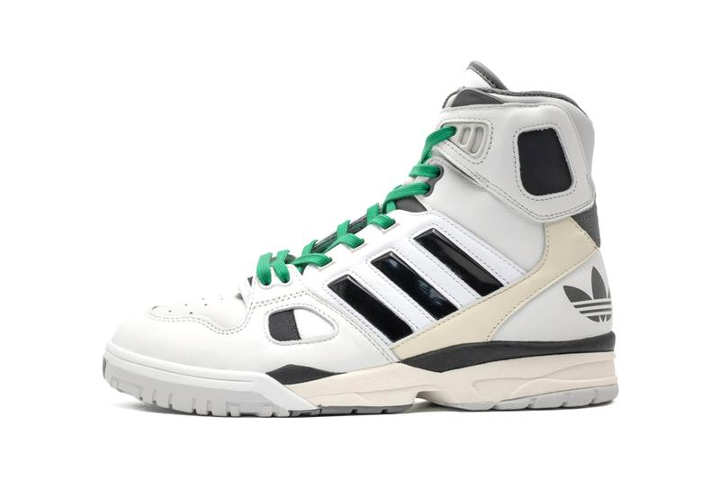 """adidas Originals KC Torsion Artillery """"CRYWHT/SCARLE/OWHITE"""" """"CRYWHT/CBLACK/OWHITE"""" FZ0883 FZ0884 'Bill and Ted's Excellent Adventure' Wyld Stallyns Footwear 1991 Basketball OG Silhouette Remake Release Information Drop Date Closer Look High Tops"""