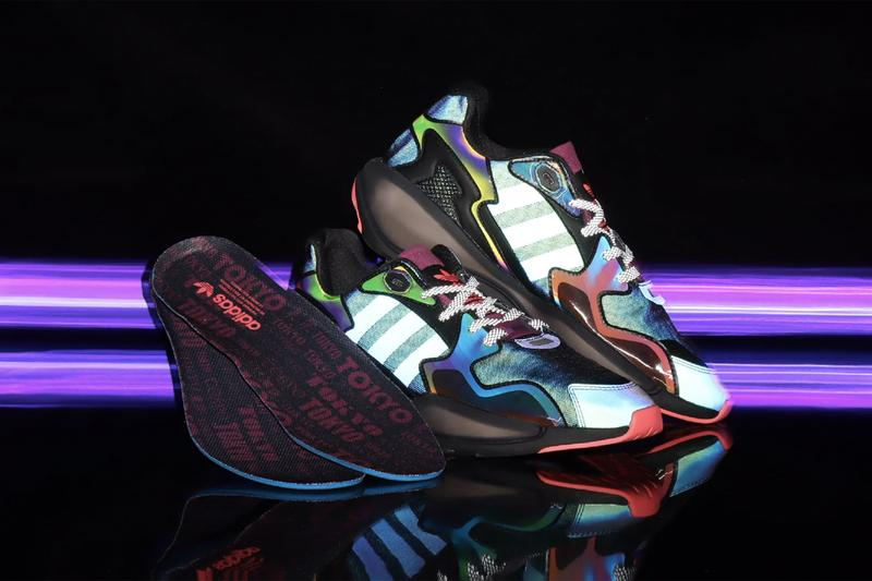 "adidas Originals ZX Alkyne atmos Tokyo-Exclusive ""Neo Tokyo"" Fall Winter 2020 FW20 Footwear Sneaker Three Stripes Release Information Drop Date First Look Unique Japan Shoe 3M"