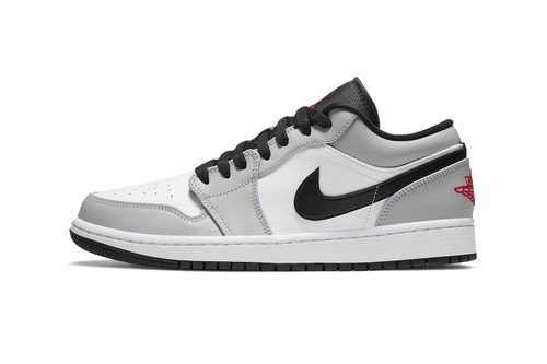 """Light Smoke Grey"" Washes Over the Air Jordan 1 Low"