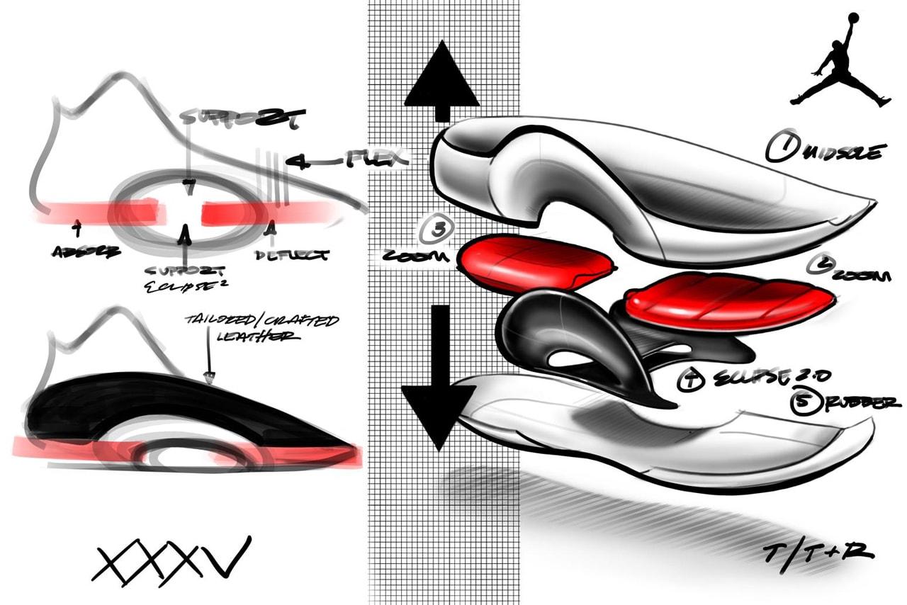Jordan Brand 最新科技球鞋 Air Jordan 35 正式登場