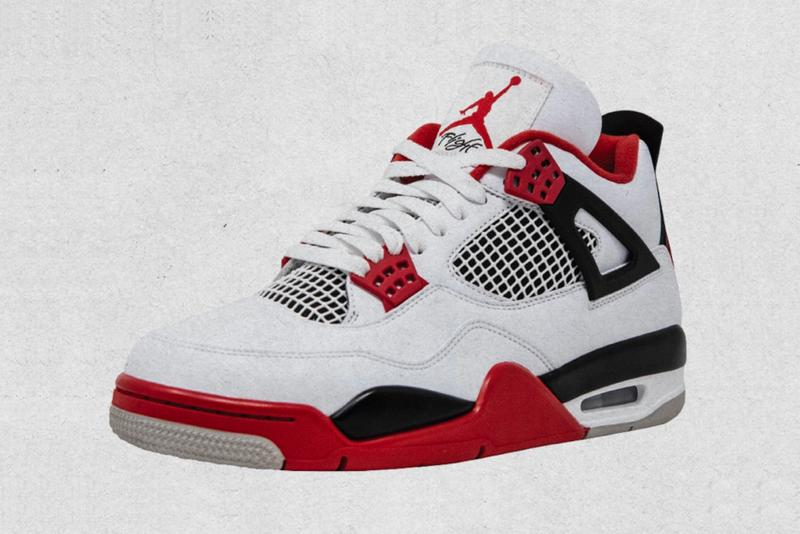 Air Jordan 4 Fire Red Release Info DC7770-160 Date Buy Price Brand SNKRS Black Tech Grey Friday Size Womens Kids