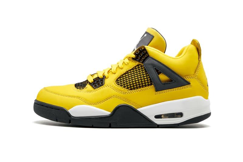 air jordan four lightning rumored release sneaker footwear