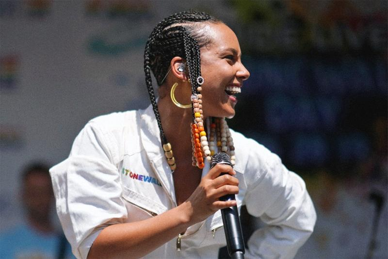 Alicia Keys Partner NFL 1 Billion USD Fund Black Owned Businesses donations benefactors beneficiaries charity community