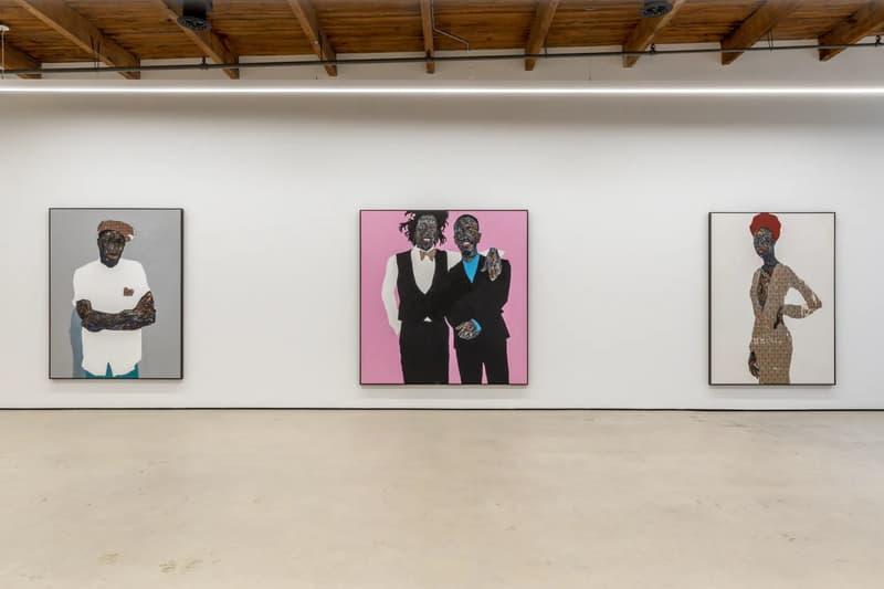amoako boafo mariane ibrahim gallery exhibition paintings