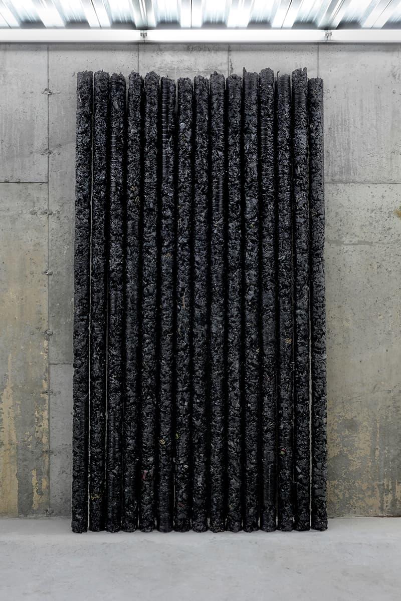 helmut lang saint laurent rive droite sculptures artwork details colette scraps unwanted pieces collaboration