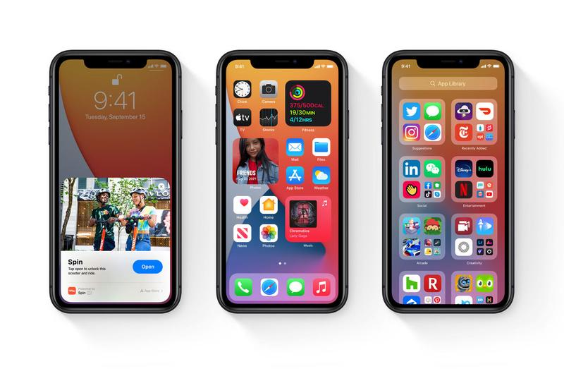 apple ios 14 operating system mobile smartphone tablet iphone ipad update