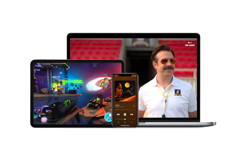apple one subscription service official announcement music news tv arcade icloud bundle individual family premier