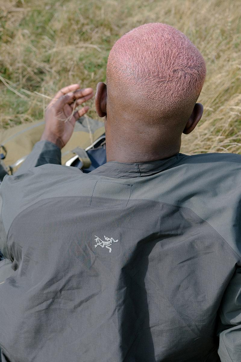 greater goods arc'teryx flock together artist series customization unique one of a kind buy cop purchase birdwatching