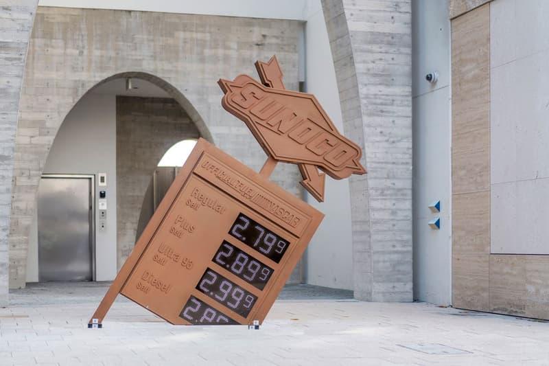 Art Basel Miami Beach 2020 Canceled coronavirus pandemic covid-19 art fair virgil abloh sculpture sunoco gas station 'Dollar a Gallon' 2019 edition