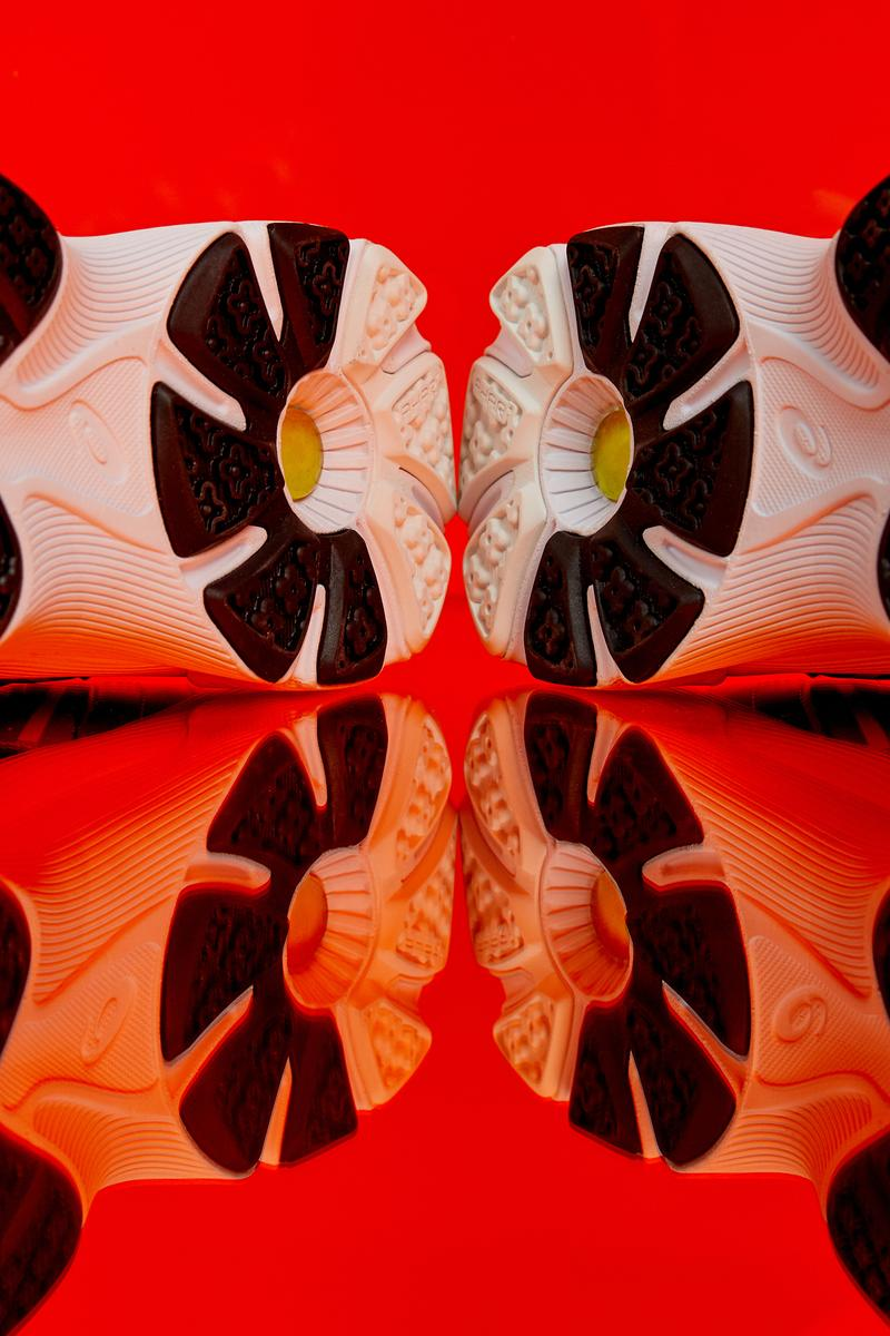 FLYTEFOAM™ Propel system GEL™ technology GEL-HELIOS™ running shoe trainer archives green gray premium suedes upper midsole construction airmesh