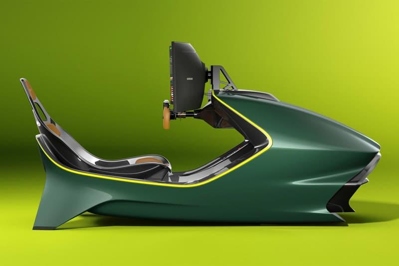 curv aston martin amr c01 racing simulator rig supercar home gaming