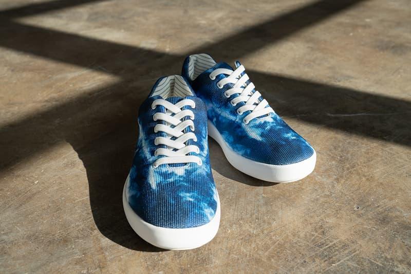 atoms tech start up sneaker tie dye blue model 000 alex ohanian linkedin reddit ted conferences e-40 chamillionaire