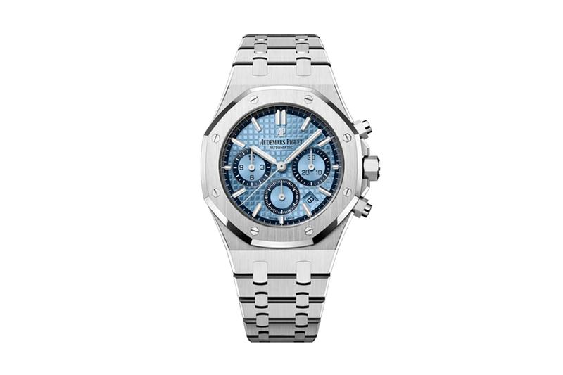 audemars piguet swiss watchmaking watches accessories royal oak chronograph 18k white gold limited edition