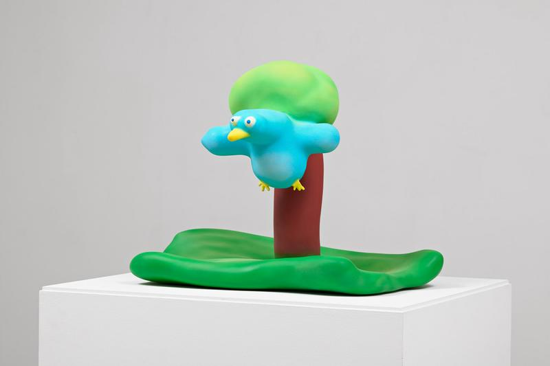 austin lee bird with tree pace prints edition allrightsreserved sculpture collectibles