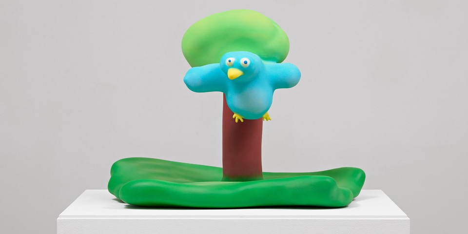 Austin Lee Releases Playful 'Bird With Tree' Sculpture Edition